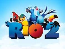 RIO 2 Movie for juniors £1.35 @ Cineworld from Friday