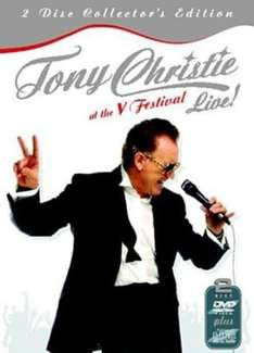 Tony Christie - Live at the V Festival - (2 Disc Collector's Edition - DVD + CD) £1 in Poundland (Leeds)