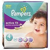 BOGOF Pampers Baby Dry and Active Essential Packs £9.99 @ Tesco