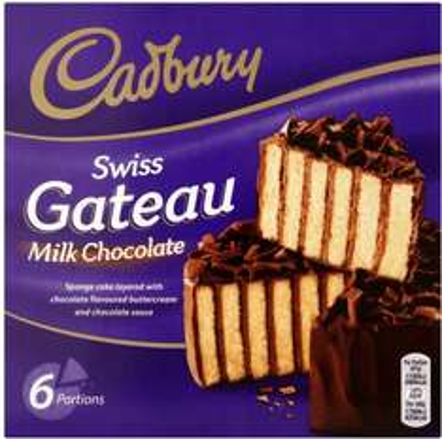 Cadbury Swiss Gâteau - 6 Servings (340g) was £1.80 now 3 for 2 @ Sainsbury's