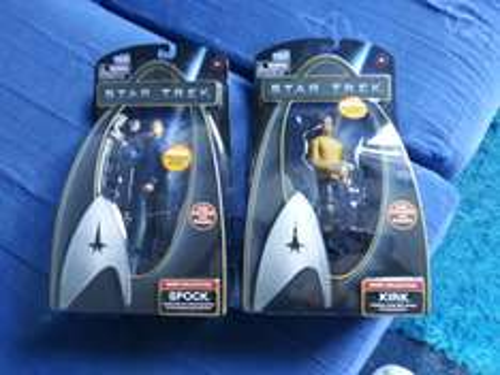 Star trek warp collection kirk and spock £1.00 @ Poundworld
