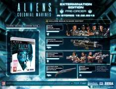 Aliens: Colonial Marines - Extermination Edition PS3 £2 @ Game