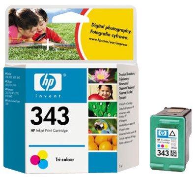 HP C8766EE#UUS 343 Inkjet Print Cartridge (7ml) - Tri-colour - £7.09 @ Amazon