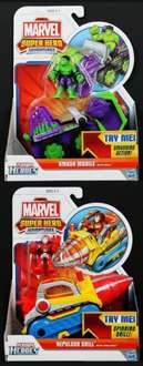 Playskool Marvel Super Heroes Vehicle with Figure Assortment £7 at Boots click and collect if you spend over £20