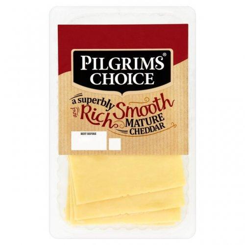 Pilgrims Choice Mature Sliced Cheddar 140g  only £1 @ Ocado