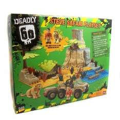 Deadly 60 Deluxe Safari set Amazon £8.99 Delivered (Sold by D & A Toys)