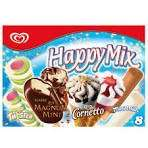 Iceland £2 for 8 ice creams Happy Mix Magnum