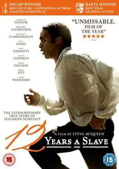12 Years a Slave (DVD) (Pre-owned) - £5 @ XV Marketplace