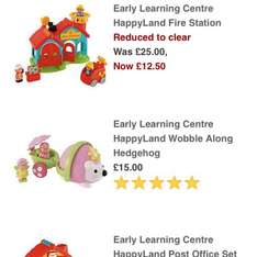 Happyland fire station and post office half price! @ John Lewis - £12.50