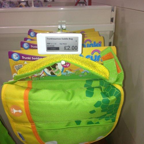 Trunki Saddle Bag - £2 instore @ Kiddicare