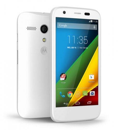 Motorola Moto G 4G (Black or White) SIM Free @ Phones4U (£6.50 Quidco, Free 1 Year Gourmet Society Membership) - £139.95