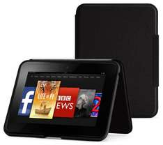 Kindle Fire HD Standing Leather Cover, £36.99 on Amazon, £6.99 on Argos Outlet Ebay.