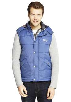 Men's Hooded Gillet Just £3.60 with code at Tesco Direct - Various Sizes and colours available!