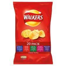 Walkers Variety 20 pack - £2.49 at Tesco
