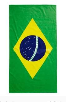 Brazil beach towel reduced to £5 from £19 free store collection @ BHS