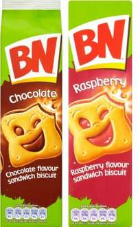 McVitie's BN Sandwich Biscuits Raspberry & Chocolate (295g) 82p @ Co-operative Food