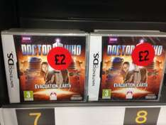 Dr Who: Evacuation Earth for Nintendo DS £2.00 @ Sainsburys instore