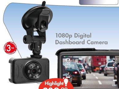 1080p Digital Dashboard Camera with 3 yr guarantee £39.99 @ Lidl - Starts 31st July