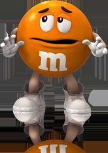 M&Ms Orange Peanut 250g bag from 99p store!