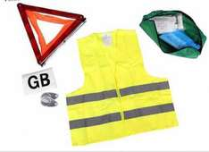 Motoring abroad kit only £20 with £10 free products on top! @ Halfords
