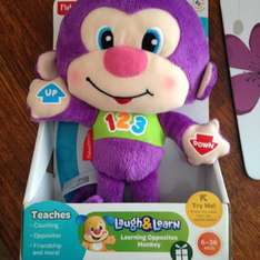 Fisher Price Opposites Learning Monkey - £3.75 instore @ Boots