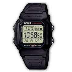 Casio W-800H-1AVES Mens Resin Digital Watch - £16.60 inclusive of postage (RRP:£25)