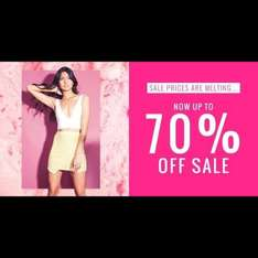 Missguided Sale - upto 70%