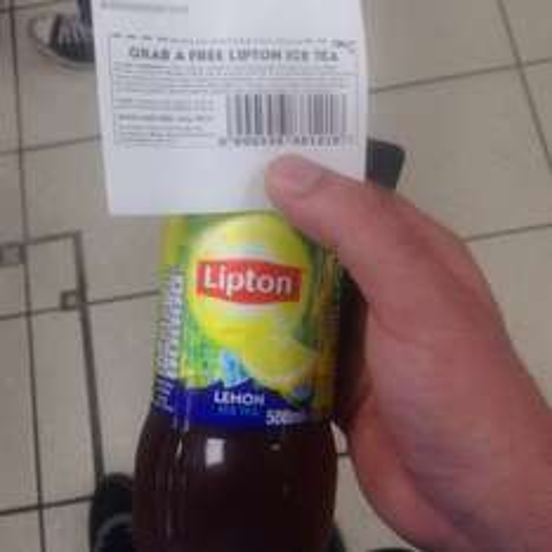 Free LİPTON İCE TEA When you use Tesco ATM (Receipt/Balance Print) Location Specific