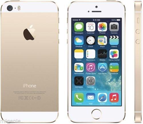 iPhone 5s 16GB Gold UNLOCKED for £404.94 @ migenie eBay