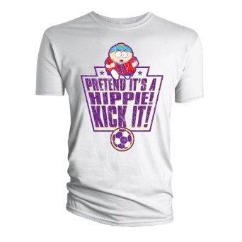 "South Park ""Pretend it's a Hippie! Kick it!"" T-Shirt @ Amazon - £1.99 (Add on item)"