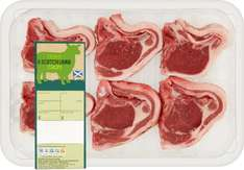 Tesco (6) Scotch Lamb Chops (450g) was £7.00 now £3.50 @ Tesco