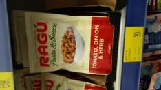 Ragu pasta and sauce meals only 0.39p @ B&M