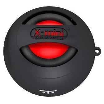 XMI X-Mini II 2nd Generation Capsule Speaker for iPhone/iPad/iPod/MP3 Player/Laptop - Black - AMAZON - £7.52