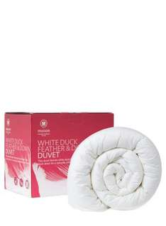 Duck Feather & Down 10.5 Tog Duvet King Size only £24.00 @ BHS
