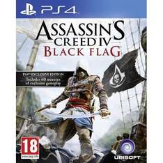 Assassin's Creed IV: Black Flag (PS4) (Preowned) £19.99 Delivered @ GamesCentre