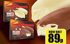 4 Pack Belgian Chocolate Majestics 480ml Lollies - Just 89p -  Instore and can order with your shopping online @ Iceland