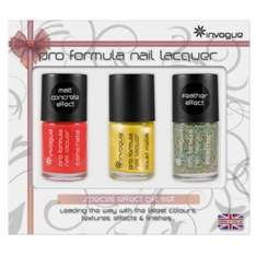 Invogue Pro Colour Gift Set of 3 full size nail polish @ Tesco Direct only £1