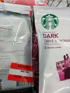 Starbucks ground coffee 227g bags for 20p at Asda Morley