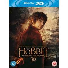 The Hobbit: An Unexpected Journey [Blu-ray 3D + Blu-ray + UV Copy] £10.72 delivered Sold by Magic Movies Ltd and Fulfilled by Amazon.