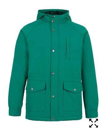 Topman Bright Green Hooded Jacket £12.00
