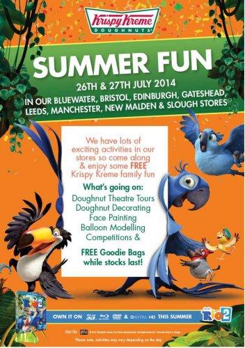 Free Summer fun weekend at Krispy Kreme stores