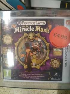 Professor Layton & the Miracle Mask *Sainsbury's in store* £4.99