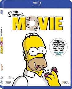 The Simpsons movie BLU-RAY £4.99 at wowhd (with code)