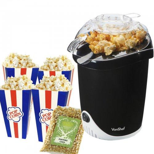 VonShef Fat-Free Hot Air Popcorn Maker £12.99 @ eBay esecuregb