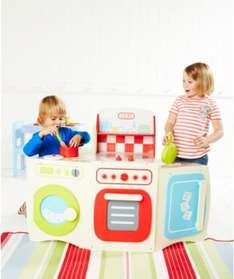 ELC Studio Kitchen, was £75, now £50, but £40 purchased via mothercare app with £10 off first order!