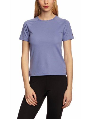 Berghaus Women's Essential Short Sleeve Crew Baselayer Color: Lavender Violet Size: 10