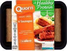 Quorn Sausages (6 per pack - 250g) ONLY £1.00 @ Asda