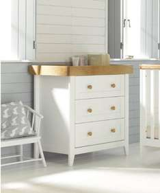 Mothercare Summer Oak Changing Unit - White Now £99 (Was £250) with Free delivery
