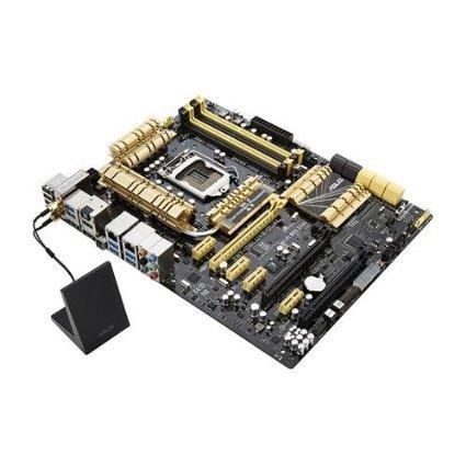 Asus Z87-Deluxe/Dual Motherboard (Intel Z87, DDR3, S-ATA 600, ATX, PCI Express 3.0, 802.11 a/b/g/n/ac, Bluetooth v4.0, USB 3.0, HDMI, Socket 1150) £104.94 @ Amazon