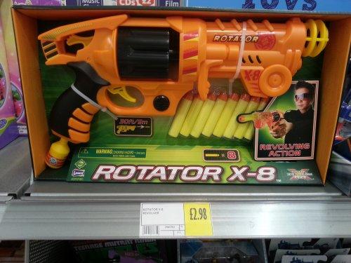 Rotater X8 similar to Nerf guns £2.98 @ Morrisons